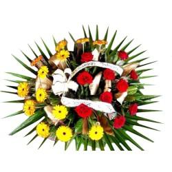 Wiązanka pogrzebowa 003