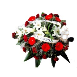 Wiązanka pogrzebowa 006