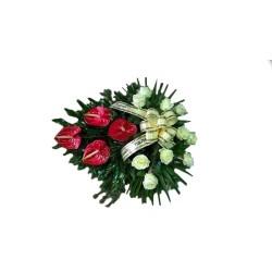 Wiązanka pogrzebowa 010