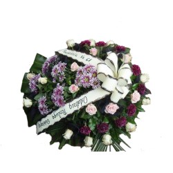 Wiązanka pogrzebowa 012